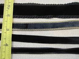 ribbons for sale black velvet ribbons sale thistle threads