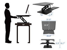 Sit To Stand Desk by Standing Desk Converters Compact Series Flexispot