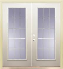15 Lite Exterior Door Mastercraft Primed Steel 72 X 80 15 Lite Patio Door At