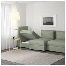 unterschied recamiere chaiselongue vallentuna 3er sofa mit liege orrsta hellgrau funnarp schwarz