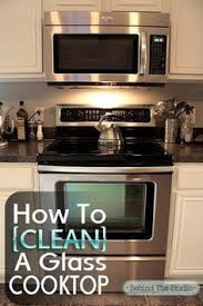 How To Clean A Glass Top Cooktop Got Stovetop Spume Soapy Water And Baking Soda Is All You