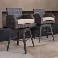 Outdoor Swivel Bar Stool Outdoor Bar Stools Sets Costco