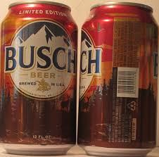 busch light aluminum bottles b current releases b