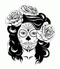 acumen sugar skull coloring pages coloring panda studying free