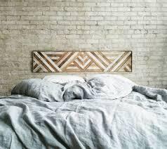 headboard wall art 25 stylish headboard alternatives that will transform your bedroom