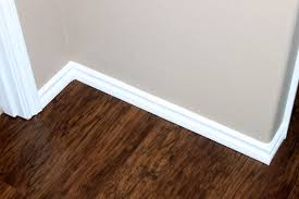 trim baseboard moulding just like playing house