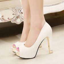 wedding shoes daily 2015 new peep toe thin heels shoes high heeled daily party toe