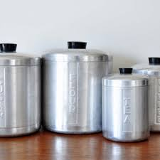 metal kitchen canister sets best tea coffee sugar canisters products on wanelo