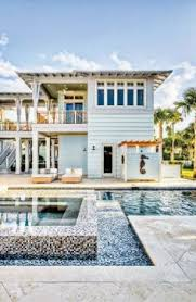 New England Beach House Plans Waterfront Out Of Bank Foreclosure Key West Style Stilted
