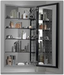 kohler bathroom mirror cabinet amazon com kohler k 2936 pg saa catalan mirrored cabinet with 107