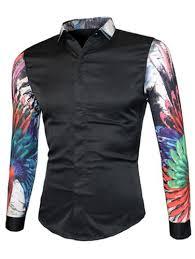 t shirt designen handla kläder 3d färgrik blom tryck skarv designen