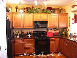 kitchens charming decorating ideas for above kitchen cabinets
