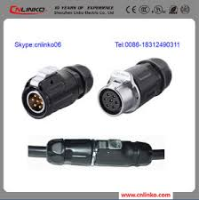 china 7 pin trailer plug and socket electrical wire connector