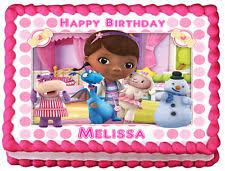 doc mcstuffins birthday cakes doc mcstuffins cake topper ebay