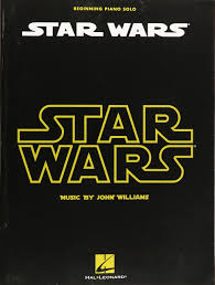 star wars for beginning piano solo john williams 0884088861940