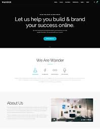 web design templates 15 best one page website templates with responsive designs
