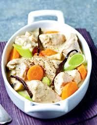 cuisiner une blanquette de veau recette blanquette de veau à la vanille aux petits légumes