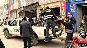cerro de pasco noticias de cerro de pasco diario correo policía interviene taller de servicios de motocicletas en cerro de