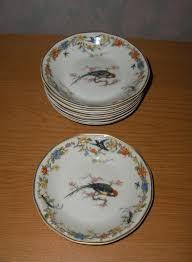 haviland patterns 9 antique vintage haviland limoges china arcadia birds dessert