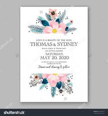 romantic pink peony bouquet bride wedding invitation template