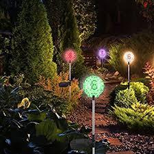 amazon com ezoe u0027s solar hanging ball lights 3 pcs solar
