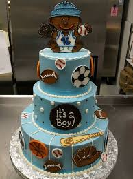 Sports Baby Shower Centerpieces by Baby Shower Sports Cake Baby Shower Diy