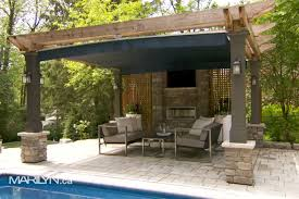 Pergola With Fabric by Transform Your Space With Outdoor Fabrics