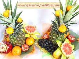 fruit basket arrangements garnishfoodblog fruit carving arrangements and food garnishes
