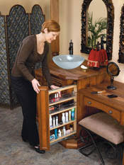 Pull Out Drawers For Bathroom Vanity Rev A Shelf Filler Pullout Organizer With Wood Adjustable