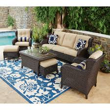 Best Wicker Patio Furniture - 7pc outdoor patio garden wicker furniture rattan sofa set modern