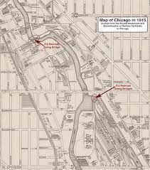 Map Of Hotels In Chicago by Railroads And Chicago Swing Bridges Forgotten Chicago History