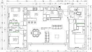 plan villa plain pied 4 chambres plan maison plain pied 4 chambres sans couloir