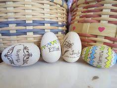 wooden easter eggs that open hollow wooden hen sized open up egg woodburned with picture or