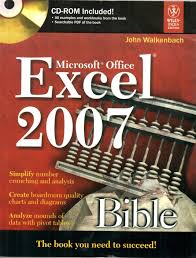microsoft office excel 2007 bible 1st edition buy microsoft