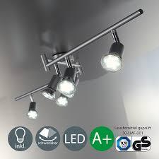 Wohnzimmerleuchten Dimmbar Spotleuchten U0026 Leuchtsysteme Amazon De