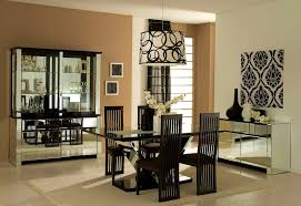 furniture mesmerizing decorating ideas dining room big wall