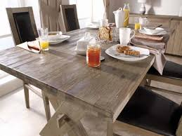 distressed round dining table dining room distressed wood dining table with bench rugged wood