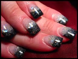 31 superb black sparkle acrylic nails u2013 slybury com