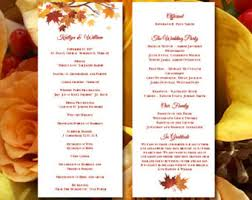 Wedding Ceremony Programs Diy Order Of Service Etsy