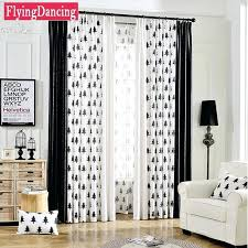 Black And White Curtain Designs Curtains In The Living Room Small Area Floral Curtains For Living