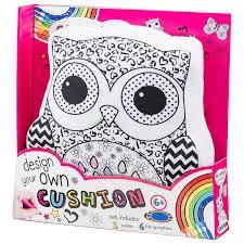 design your own cushion kids arts u0026 crafts