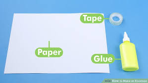 how to make envelopes 3 ways to make an envelope wikihow