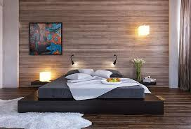 Build A Wood Bed Platform by Easy To Build Diy Platform Bed Designs