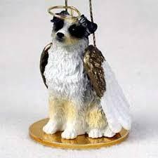 cats and dogs australian shepherd ornament