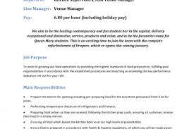 Food Prep Job Description Resume by Mcdonald U0027s Crew Resume Reentrycorps