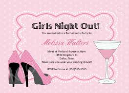 bachelorette party invitation cloveranddot com