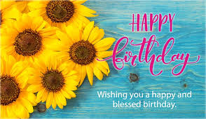 free birthday e cards free happy birthday blessed and happy ecard email free
