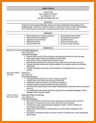 Examples Of The Perfect Resume by 4 Examples Of A Perfect Resume Mailroom Clerk