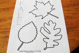 11 best images of leaf pattern worksheet for preschool fall leaf