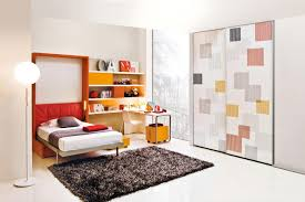 Bedroom Wall Hide A Bed Transformable Space Saving Kids Rooms